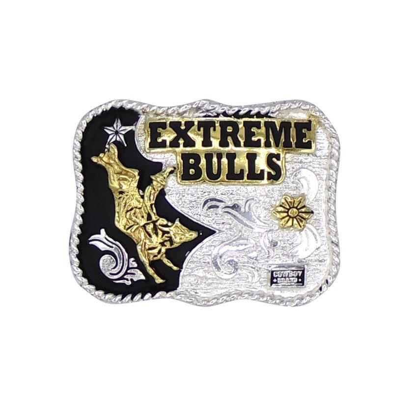 Fivela Country Infantil Extreme Bulls