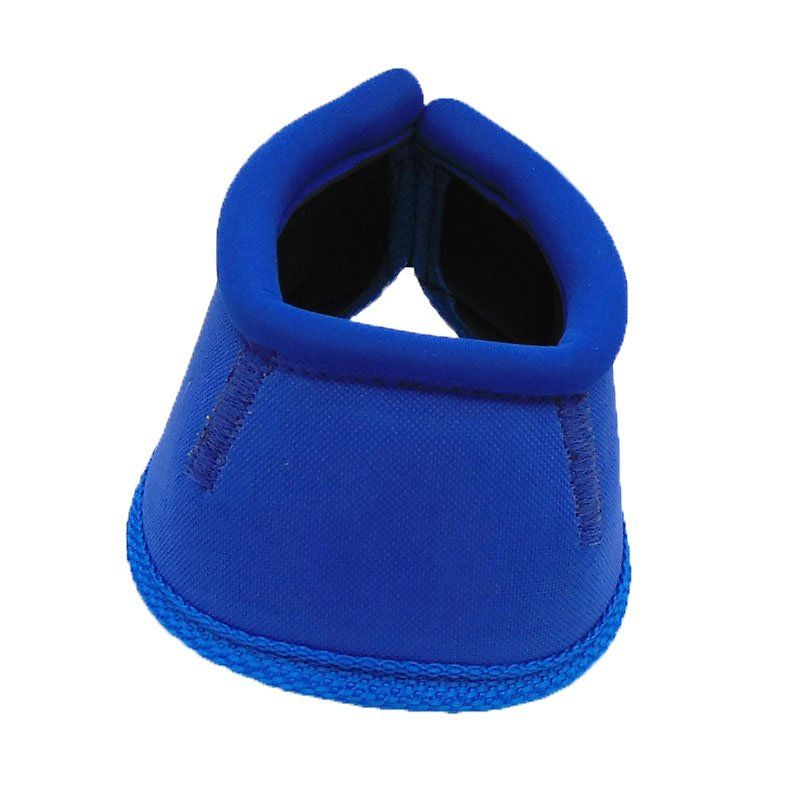 Kit Cloche e Caneleira Azul Para Cavalo