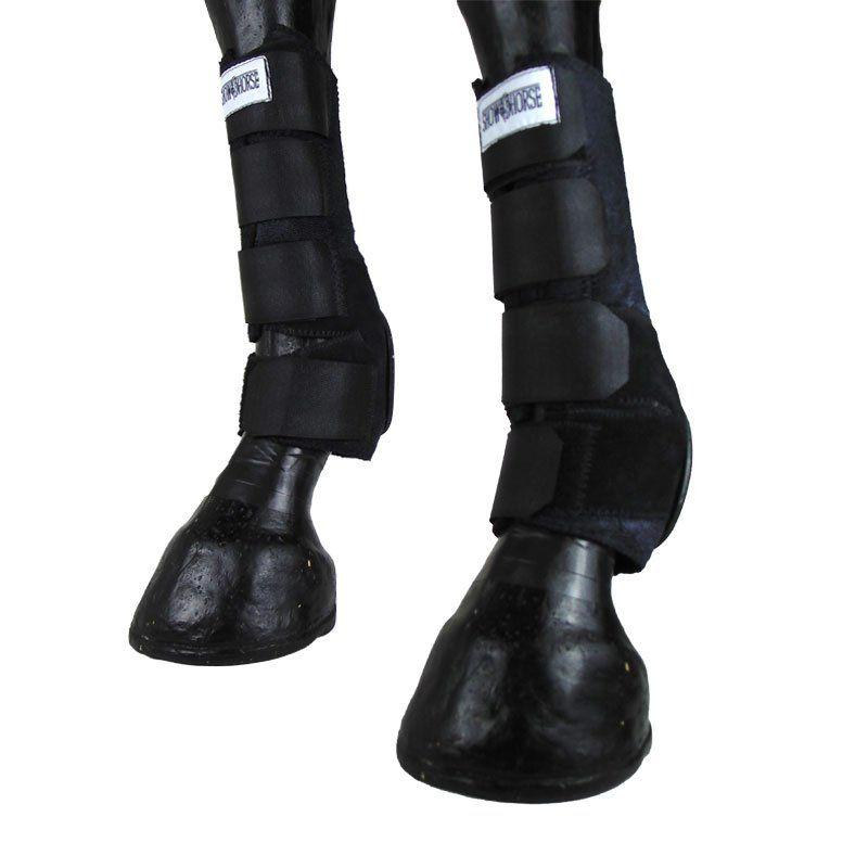 Kit Caneleira Com Skid Boot Preta