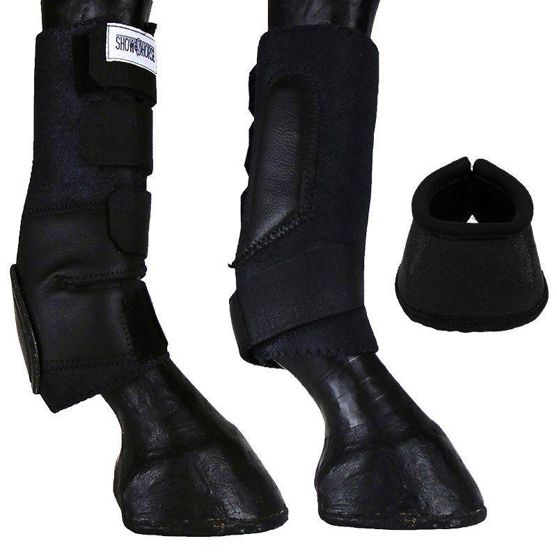 Kit Caneleira Com Skid Boot e Cloche Preta