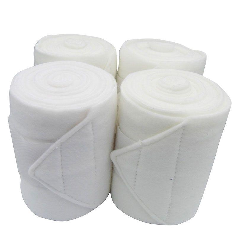 Liga de Descanso Branca Polo Wraps