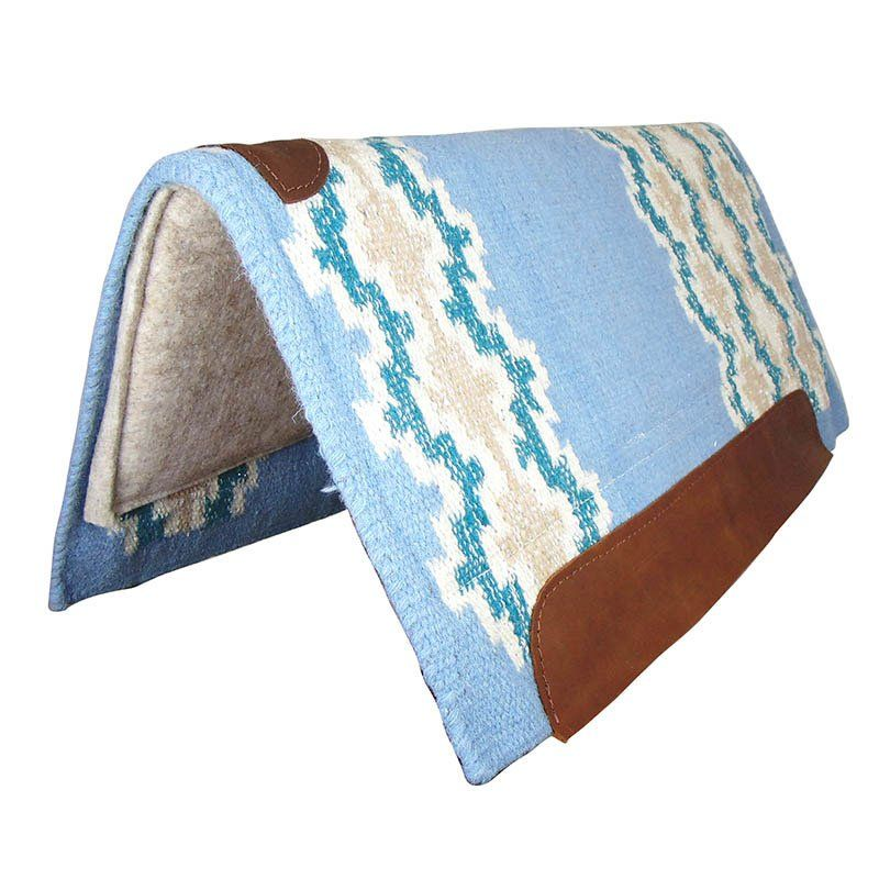 Manta Para Cavalo Weaver Memory Foam Azul Claro