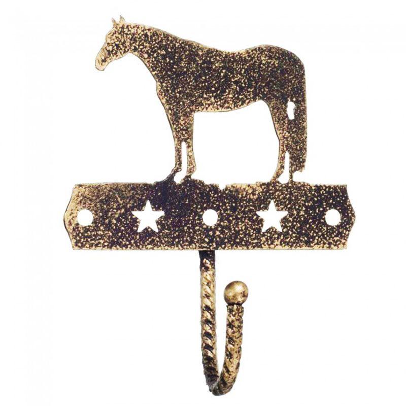 Pendurador Decorativo com 1 Gancho Dourado