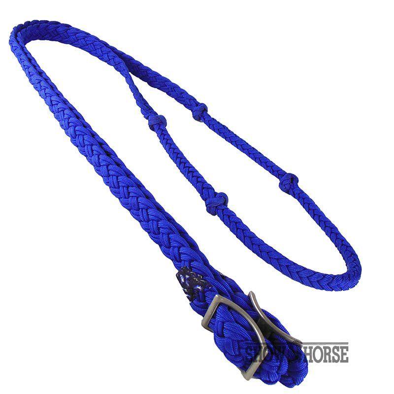 Rédea de Cavalo de Nylon Azul Escuro