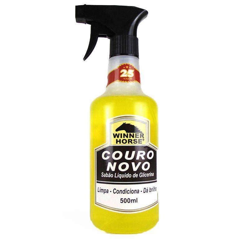 Sabão de Glicerina Para Couro 500ml