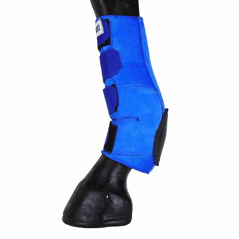 Skid Boot Caneleira Traseira Longa Azul