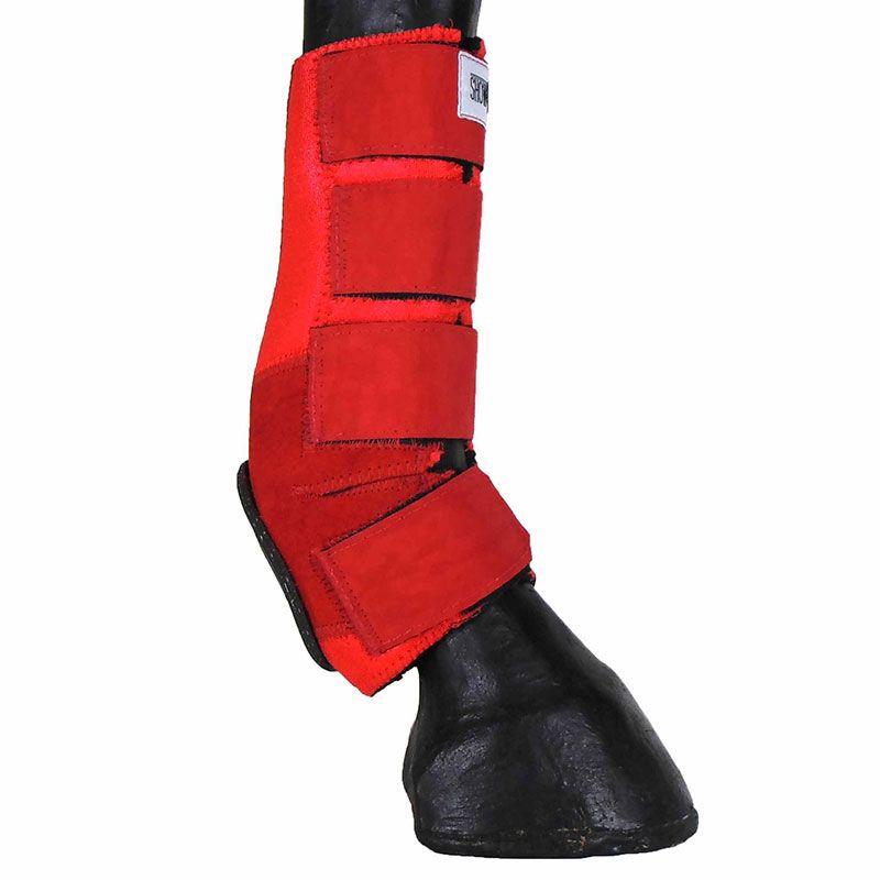 Skid Boot Caneleira Traseira Vermelha
