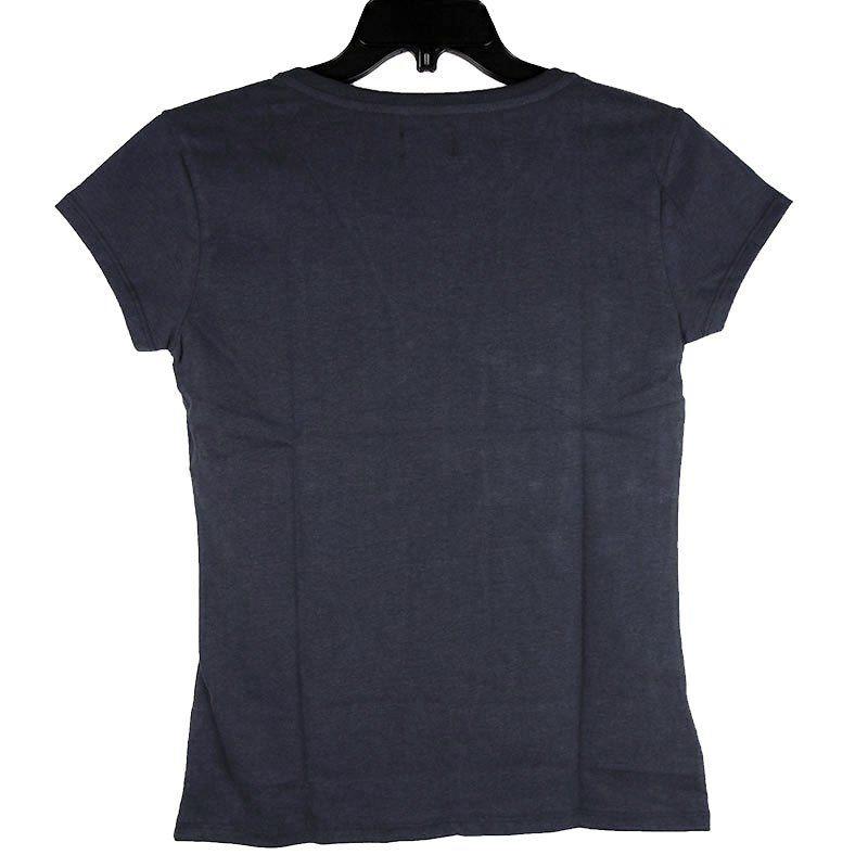 T-shirt Wrangler Cowgirl Azul