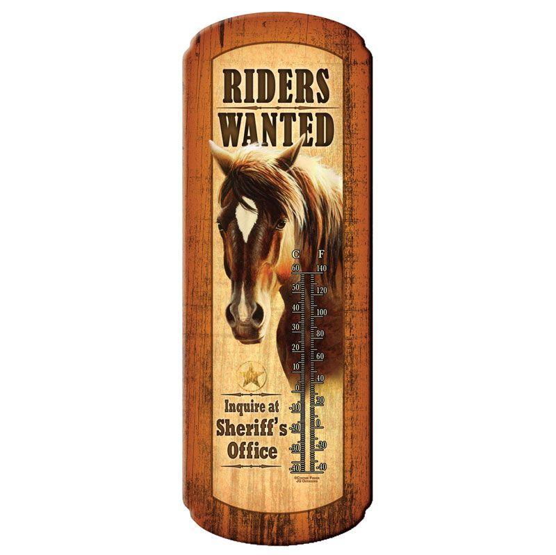 Termômetro Riders Wanted