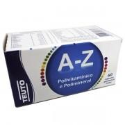 A-Z Polivitamínico e Polimineral com 60 Capsulas
