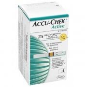 Accu-Chek Active Tiras Reagentes com 25 Unidades