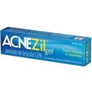 Acnezil Gel Peroxido de Benzoíla 5,0% com 20g