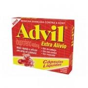 Advil 400mg com 8 Cápsulas Gelatinosas