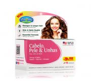 Cabelo, Pele & Unhas (Hair, Skin & Nails) VitaVale com 72 Cápsulas