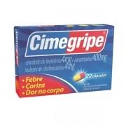 Cimegripe Anti Gripal Caixa com 20 Cápsulas