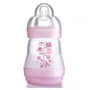 First Bottle Mamadeira Rosa com 160ml