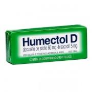 Humectol D com 20 Comprimidos Revestidos