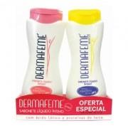 Kit Sabonete Íntimo Dermafeme - Contém 2 Frascos de 200ml