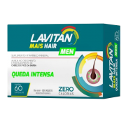 Lavitan Mais Hair Men Queda Intensa com 60 Cápsulas