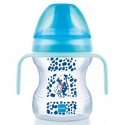 Learn To Drink Cup Copo de Treinamento com Bocal Macio Azul 6+ Meses com 190ml