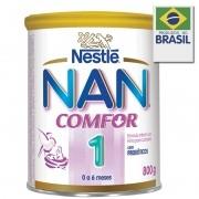 Leite Nan Comfor 1 Fórmula Infantil Prebióticos Para Lactentes - 800g