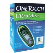 Medidor de glicose One Touch UltraMini Verde (kit compatível com as tiras One Touch Ultra)