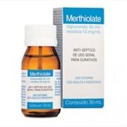 Merthiolate Solução com 30ml