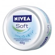 Nivea Creme Soft com 45g
