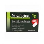 Novalgina 1g com 10 Comprimidos