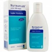 Nutraplus Ureia 10% Loçao Hidratante Para Pele Seca e Aspera com 120ml