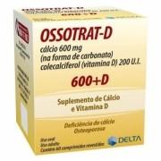 Ossotrat D Suplemento de Cálcio e Vitamina D com 60 Comprimidos Revestidos