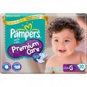 Pampers Premium Care Pacotao Tamanho G com 20 fraldas
