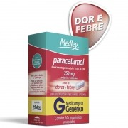 Paracetamol 750mg com 20 Comprimidos Genérico Medley