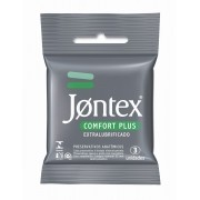 Preservativos Jontex com 3 unidades Comfort Plus