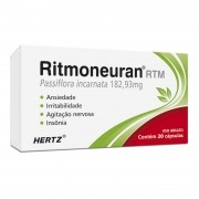 Ritmoneuran Hertz RTM Passiflora Incarnata 182,93mg com 20 Capsulas