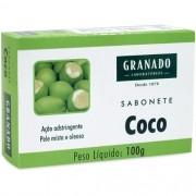 Sabonete Granado Coco Adstringente Pele Mista e Oleosa 100g