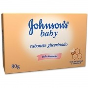 Sabonete Johnsons Baby Glicerinado com 80g