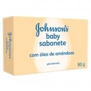 Sabonete Johnsons Baby Hora com Oleo de Amendoas com 80g