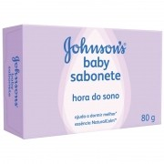 Sabonete Johnsons Baby Hora do Sono com 80g
