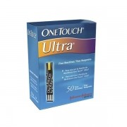Tiras One Touch Ultra com 50 unidades