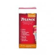 Tylenol Paracetamol Gotas 200mg com 15ml