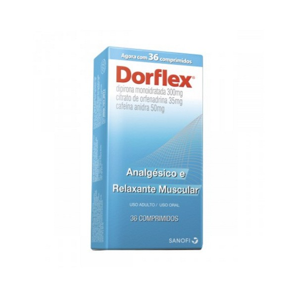 Dorflex com 36 comprimidos