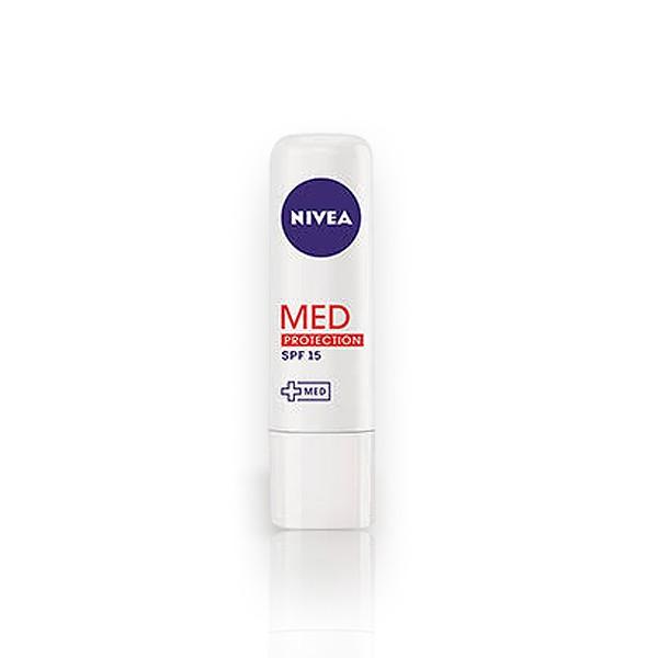 Lip Care Hidratante Labial Nivea Med Protection com 4,8g