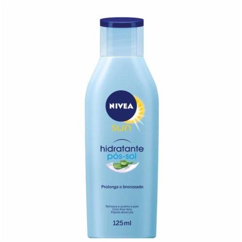 Loção Hidratante Pós-Sol Nivea Sun com 125ml