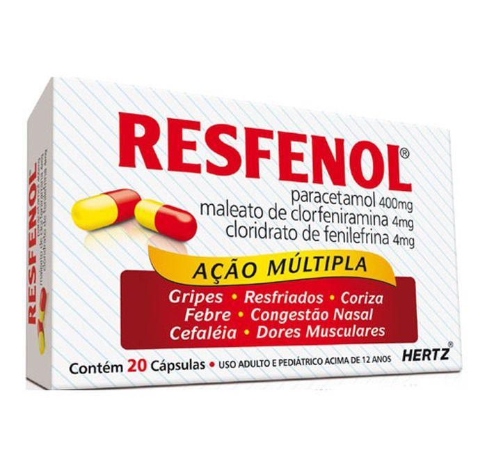 Resfenol com 20 Cápsulas