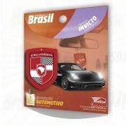 ALOHA AROMATIZANTE AUTOMOTIVO INVICTO AMADEIRADO FRESCO ESCUDERIA DO BRASIL
