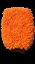 LUVA DE MICROFIBRA PARA LAVAGEM GLOVE LARANJA 30X20 KERS