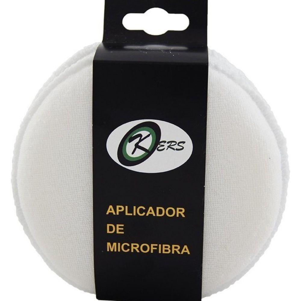 APLICADOR DE MICROFIBRA BRANCO KIT COM 2 KERS
