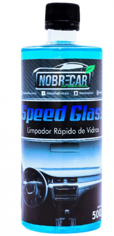 LIMPADOR DE VIDROS SPEED GLASS 500ML NOBRE CAR