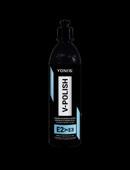 V-POLISH POLIDOR REFINO & LUSTRO E2 E3 PREMIUM 500ML VONIXX
